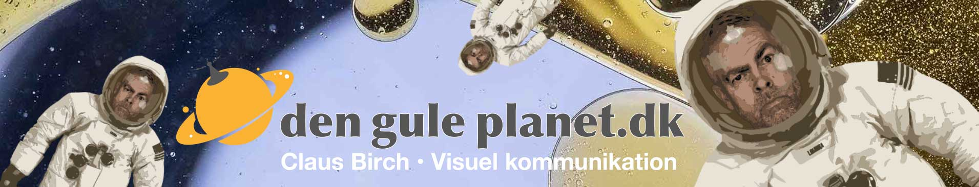 Claus Birch - Den gule planet - Om visuel kommunikation
